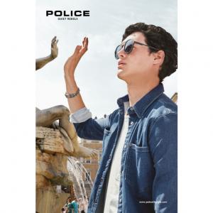Police sol hombre